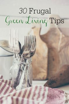 Wanting to live greener and save money? Do both at the same time with these tips.  People often think being eco-friendly costs more money but really it can be extremely frugal. Using less should be the biggest goal of green living and using less saves a lot of money. When people ask me about making...Read More »