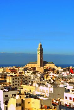 Casablanca, Morocco  Easy to enter...much harder to leave. Especially if you're wanted by the Nazis. Love this movie <3