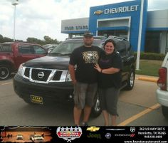 Thank you to Trecie Hobbs on your new 2008 Nissan Armada from Gene Klinkerman and everyone at Four Stars Auto Ranch!