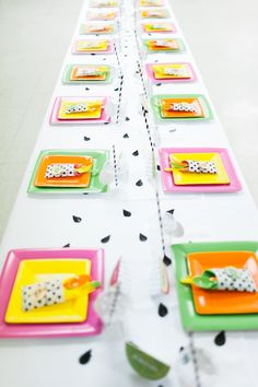 Dining Tablescape from a Tutti Frutti Birthday Party via Kara's Party Ideas | KarasPartyIdeas.com (19)