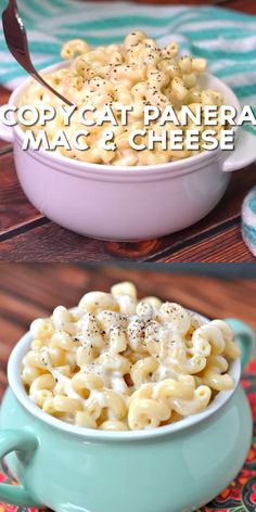 Easy Copycat Panera Mac and Cheese Recipe – Shugary Sweets Easy Copycat Panera Mac and Cheese Recipe – Shugary Sweets,p_ tasty Creamy white cheddar macaroni and cheese just like Panera. Give this copycat version. Think Food, Love Food, Shugary Sweets, Yummy Food, Tasty, Comfort Food, Food To Make, Easy Meals, Cooking Recipes