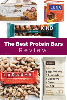 For years weve been tempted by a quick go-to lunch. These are the BEST protein bars whether you're tring to lose weight or just get in a healthy meal. We love Quest Bars Luna Bars Larabars KIND bars and RX Bars because of their quality ingredients! Buffalo Wild Wings, Gourmet Recipes, Snack Recipes, Healthy Recipes, Protein Recipes, Diabetic Recipes, Diet Recipes, Healthy Protein Snacks, High Protein