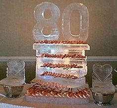 Centerpiece Ideas For A 80th Birthday Party