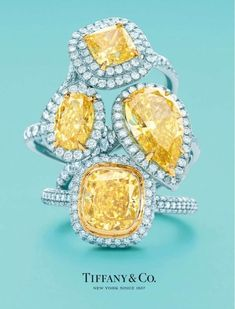 ¶¶¶ Tiffany yellow diamonds...love #Cyber_Monday #Price_Drop