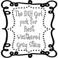 Gray weathered wood finish - success at last - The DIY Girl