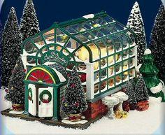 The Secret Garden Greenhouse, Original Snow Village (#0336)
