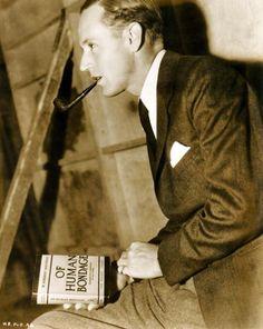 "Leslie Howard promocionando ""Cautivo del Deseo"" (Of Human Bondage), 1934 Trevor Howard, Leslie Howard, Old Hollywood Movies, Vintage Hollywood, Classic Hollywood, Hollywood Party, Funny People, Good People, Amazing People"