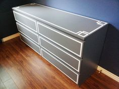 ikea malm dresser redo  I have this dresser and am SO doing this