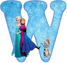 Alfabeto de Ana, Elsa y Olaf de Frozen. Olaf Frozen, Frozen Movie, Disney Frozen 2, Frozen Theme, Frozen Tea Party, Frozen Birthday Party, Monogram Alphabet, Alphabet And Numbers, Disney Letters