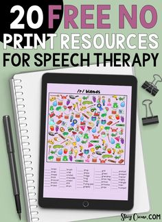 20 Free No Print Resources for speech therapy Preschool Speech Therapy, Speech Activities, Speech Therapy Activities, Speech Language Pathology, Speech And Language, Articulation Activities, Shape Activities, Preschool Songs, Language Activities