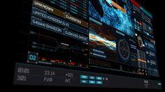 Futuristic User Interface CHARLIE on Behance