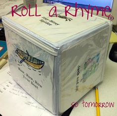 Roll a Storytime! ~ so tomorrow--variations on the song cube idea