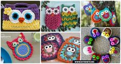 Basic crochet owl appliques to make coasters, purse, bags, keychains and more that we can finish in an hour.