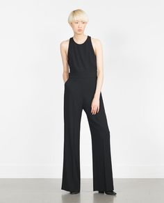 ZARA - NEW IN - JUMPSUIT WITH BACK STRAP
