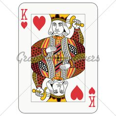 Games and gambling: queen of hearts playing card (decorations in a separate level in Free Vector Images, Vector Free, Hearts Playing Cards, King Of Hearts, Living At Home, Blank Cards, Art Lessons, Home Deco, Royalty
