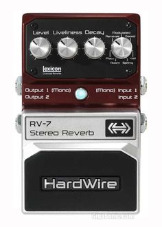 Straightforward Boss Audio Rv-6 Digital Reverb Pedal With 8 Reverb Modes And Mono Or Stereo Operation *free Pedal Case Be Novel In Design Expression Pedal Input