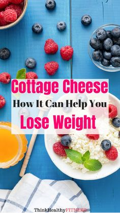 Ever wondered if can cottage cheese can help you lose weight? The answer is… I… - Diet Benefits Of Cottage Cheese, Cottage Cheese Diet, Low Fat Diet Plan, Keto Diet Plan, Ketogenic Diet, Start Losing Weight, How To Lose Weight Fast, Weight Loss Workout Plan, Low Fat Diets