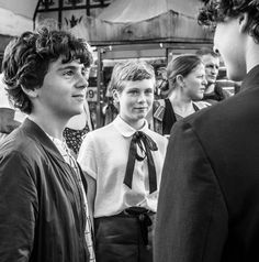 Discovered by Marianna. Find images and videos about finn wolfhard, jack grazer and jaeden lieberher on We Heart It - the app to get lost in what you love. Jack Finn, Jack G, It Movie Cast, It Cast, Beverly Marsh, Bad Friends, Movies Showing, Celebrity Crush, Good Movies