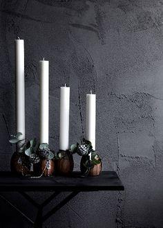 Adventní věnce a svícny ve skandinávském stylu | Styl a Interier