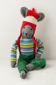 Aspen Bunny  #anthropologie Love! So cute and comes in 4 different outfits.