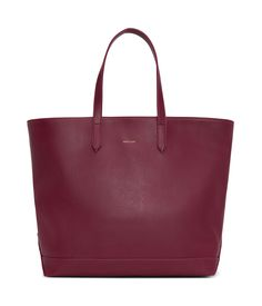 Tote with magnetic snap closure. recycled nylon lining. Can fit a laptop. Vegan Fashion, Black Tote Bag, Garnet, Pouch, Laptop, Zip, Stuff To Buy, Bags, Accessories
