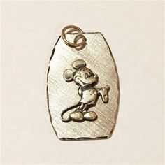 Vintage Sterling Silver Disney Mickey Mouse Charm or Pendant Measures x 1 inches. Stamped © Walt Disney Productions and Sterling. Silver Jewelry Cleaner, Disney Mickey Mouse, Walt Disney, Women Jewelry, Charmed, Stamp, Sterling Silver, Pendant, Accessories