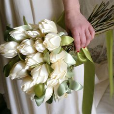 Beautiful fabric bouquet by TheElephantJourney