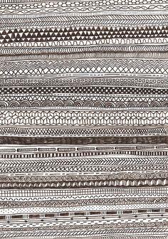 #pattern une histoire de verticalité by lageometrie, via Flickr