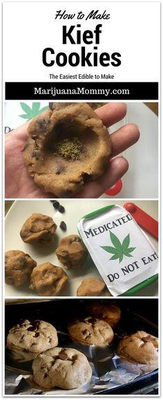 Kief Cookies Are the Easiest Edibles to Make  https://www.marijuanamommy.com/kief-cookies-recipe-easiest-edible/