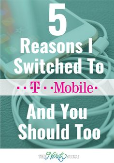 I switched to T-Mobile and my only regret has been that I didn't do it sooner. Check out the 5 reasons why I switched to T-Mobile and why you should too. Nurse Meaning, Nursing Pins, Nursing Profession, Cool Tech Gadgets, Tech Toys, Nurse Life, Nursing Students, Regrets, Nerdy