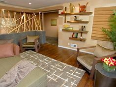 Zen Living Room Furniture zen asian furniture set : singapore living room | asian decor