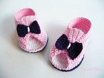 7) Babyschuhe gehäkelt - gut erklärte Anleitung