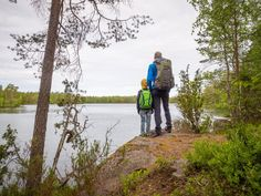 Guided tour in Nuuksio National Park in Espoo and Vihti, Finland, and to other best nature places for day trip from Helsinki. I know the best trails and places. 7 Year Olds, Helsinki, Tour Guide, Amazing Nature, Day Trip, Finland, Tent, National Parks, Hiking