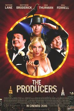 The Producers- very possibly my favorite movie musical of all time.
