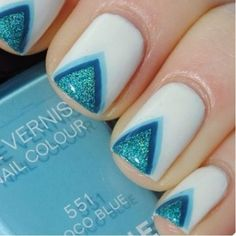 We're loving all these geometric nails!