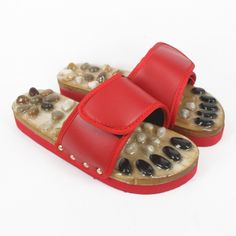 Find #NaturalStoneMassageShoes / #MassageFootSlipper in Lowest Price From #Deangolf