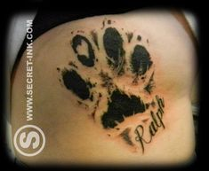 Résultats de recherche d'images pour « unique tattoos for dogs who passed away »