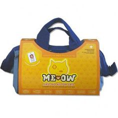 Me Ow - First Aid Kit for Cats – The Ready Station. This essential first aid kit for cats, Me Ow, was created at the request of Veterinarians across the country. Intended for those individuals who want the necessary emergency stabilization first aid tools to handle emergency situations. The rugged, water resistant box is perfect for the home, field, and automobile. Be prepared, your pet is counting on you. Veterinarian approved.