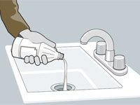 how to keep drains clear naturally