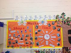 Maths time and shape display