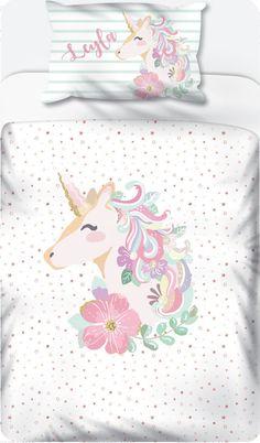Unicorn Pastel with Stars - Duvet Set – LCV Designs & Decor