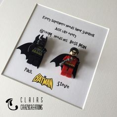 Lego Wedding Favour Gift Groom Best Man Bride Bridesmaid Maid