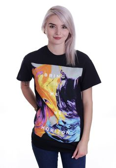 Bring Me The Horizon - Painted - T-Shirt - Official Merch Store - Impericon.com UK