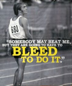 Steve Prefontaine This is pretty much my motto at Jiu Jitsu class :) Don't let the pink flowery gi fool you i'm vicious! #bjj