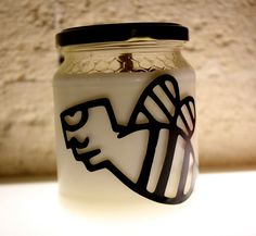 made by Candle Eco design, Lecce, Italy eco, natural, recycle art