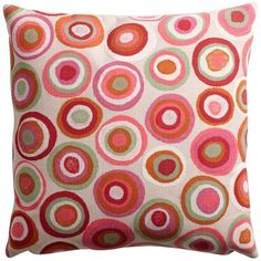 Ethan Allen Kaleidoscope Pillow ($94) ❤ liked on Polyvore