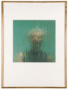 Ann Hamilton Reflections, 2000 Iris Print on Arches Watercolor Paper