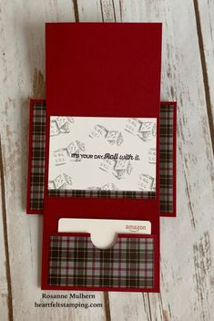 Fancy Fold Cards, Folded Cards, Gift Cards Money, Gift Card Cards, Gift Tags, Birthday Gift Cards, 23 Birthday, Birthday Ideas, Christmas Gift Card Holders