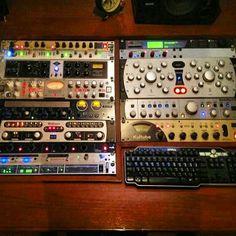 DBS Studio in Bangkok, Thailand. #TrackOne (gold version!) #MixDream #TransientDesigner #Passeq #MasterBayS #Kultube