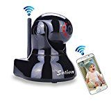 SOTION WiFi Internet Wireless Network IP Security Surveillance Video Camera System, Baby and Pet Monitor with Pan and Tilt, Two Way Audio & Night Vision   Super HD remote live video streaming, pan (355º), tilt (110º) and digital zoom (5x) via smart phone, tablet, PC and Mac. Typically used...